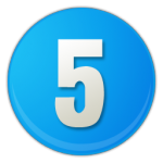 sky-blue-number-5-icon-24419